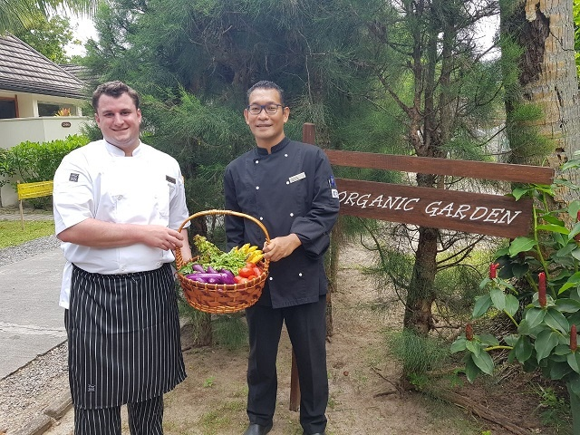 Spanish chef brings Mediterranean taste to Seychelles Hilton with local organic produce