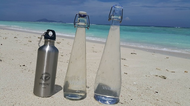 Hilton resort on island in Seychelles bottling own water to cut down on waste
