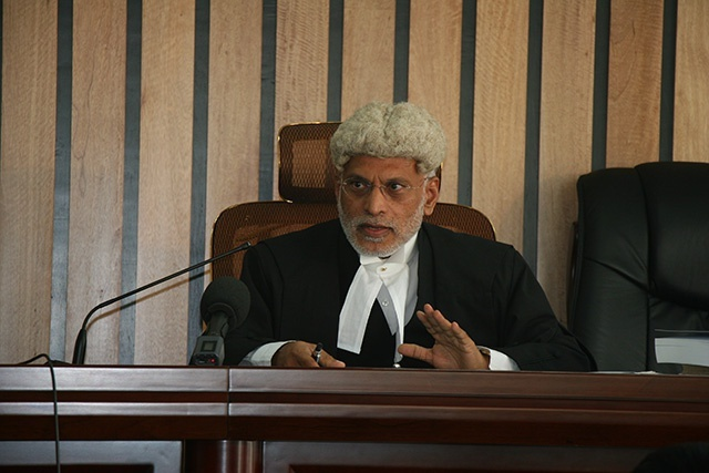 Suspended Seychellois Supreme Court justice given one week to analyse information in case