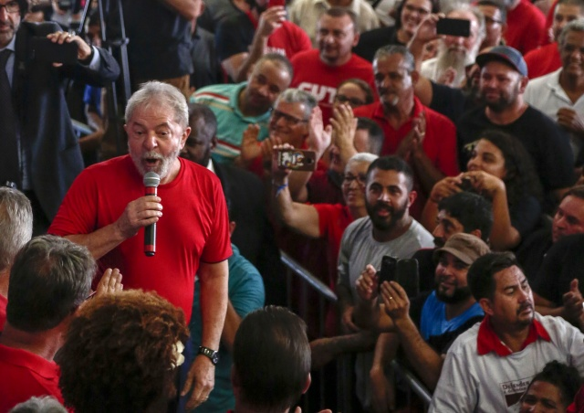 Brazil's Lula loses appeal against corruption conviction