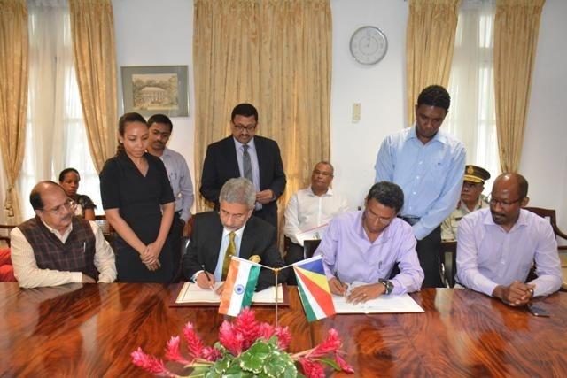 Les Seychelles et l'Inde signent une nouvelle version de l'accord militaire de l'île d'Assomption