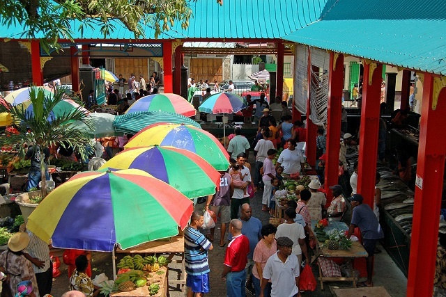 Overcrowding at Seychelles' main market pushes officials to set up a temporary one on the capital's outskirts