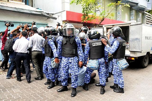 Maldives: le président Yameen dénonce une