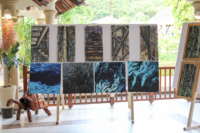 Seychellois artists raise awareness about island conservation through artworks