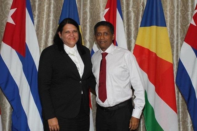 La vice-présidente de Cuba visite les Seychelles dans le cadre d'une tournée africaine