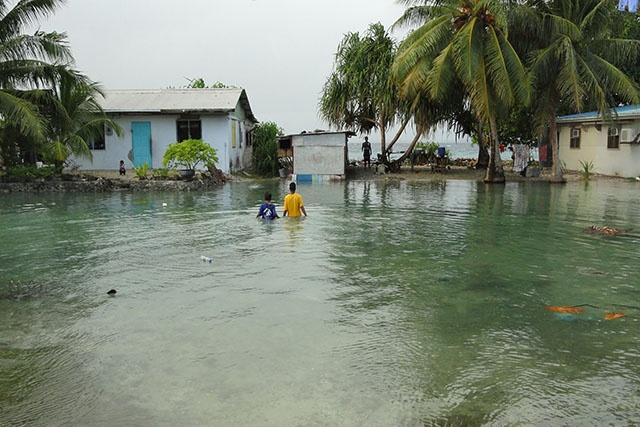 Niveau des océans: des îles et des deltas menacés même avec l'accord de Paris