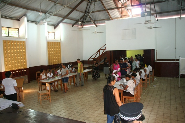 Voters in Seychelles cast ballots to fill vacated National Assembly seat
