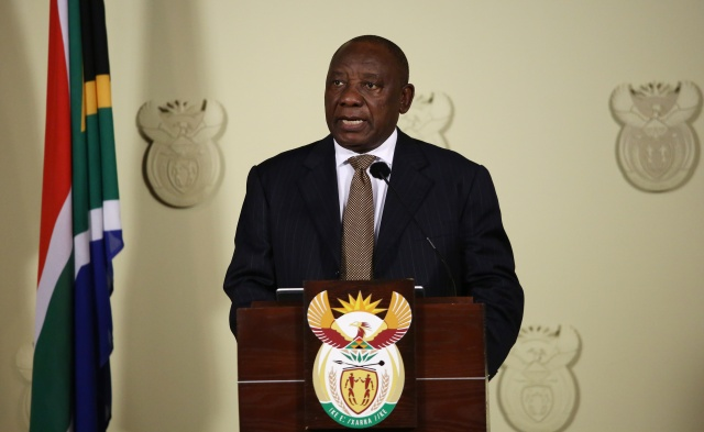 Sweeping Ramaphosa reshuffle for S.Africa