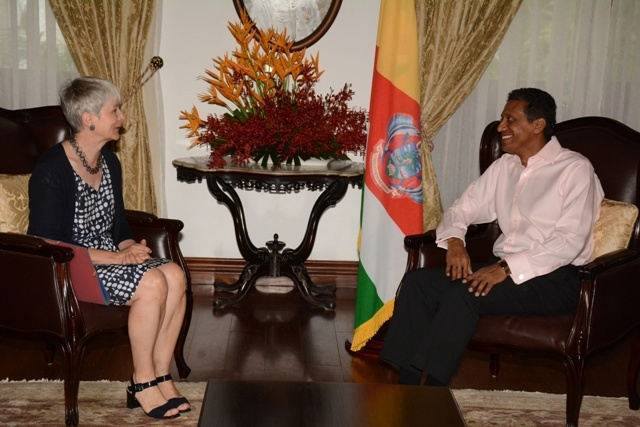Germany's ambassador to Seychelles backs sustainable fisheries in visit with president
