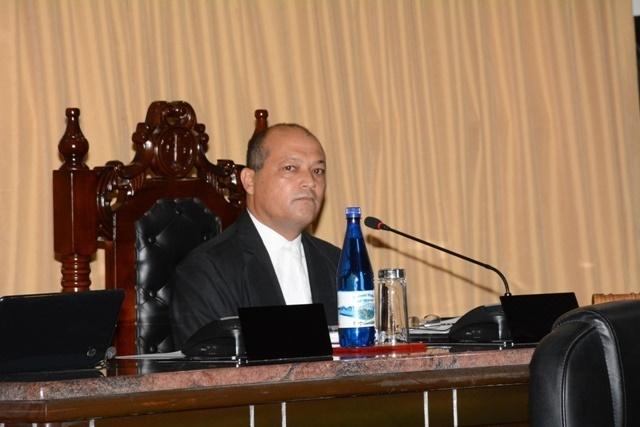 Nicholas Prea élu à la tête de l'Assemblée nationale des Seychelles.