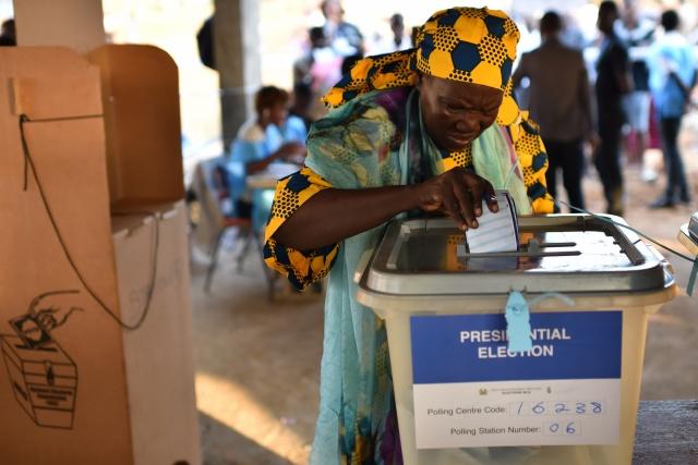 War-scarred Sierra Leone picks president