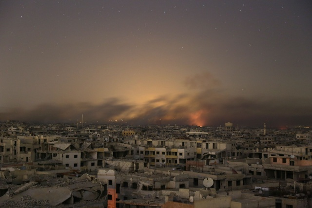 Syrie: poursuite de l'offensive du régime contre la Ghouta, pilonnée sans répit
