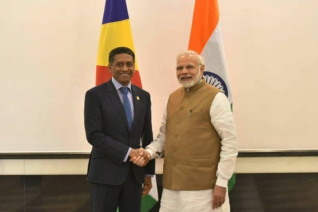 President of Seychelles highlights renewable energy initiatives at solar conference in India