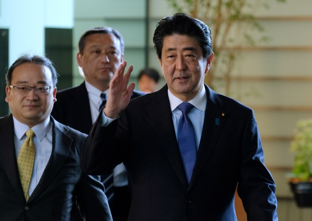 Abe's wife drawn into cronyism scandal