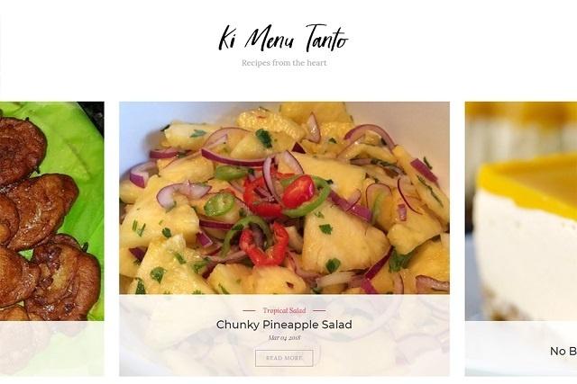 Un groupe sur Facebook lance son propre site internet rempli de recettes de cuisine des Seychelles
