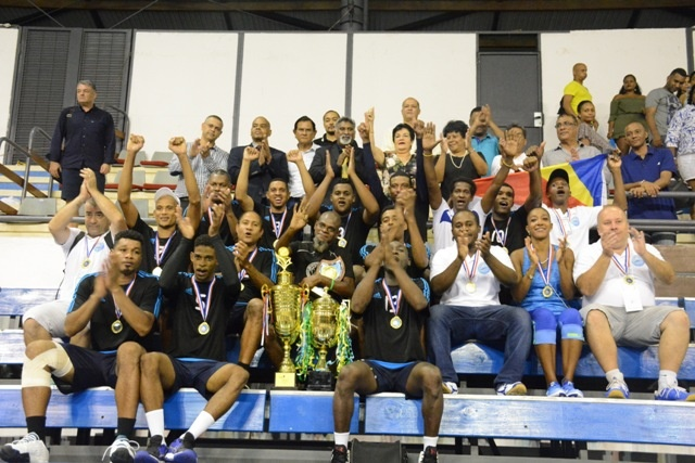 Mens volleyball club from Seychelles leaves for African club championship