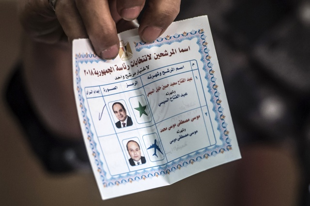 Initial Egypt Election Results Show Landslide Win for Incumbent Sissi