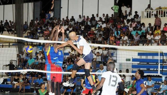 Seychellois volleyball club wins opening match at club championship in Egypt