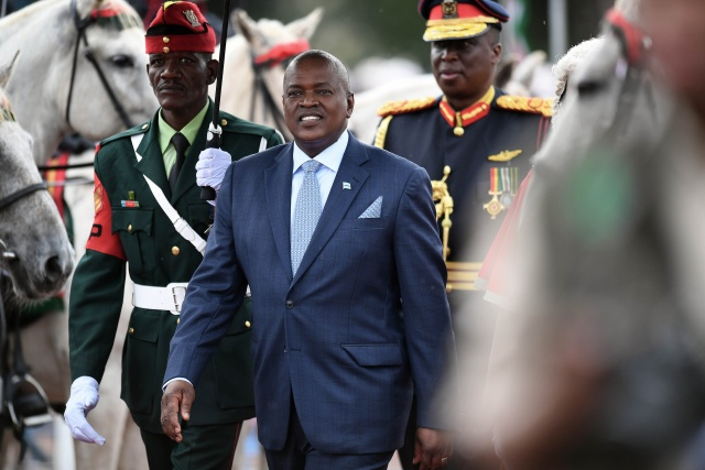 Botswana's new president vows to tackle unemployment