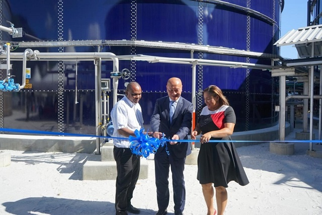 Indian Ocean Tuna factory in Seychelles begins using new wastewater treatment plant