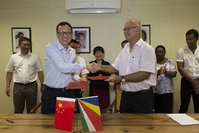 De nouveaux échanges éducatifs auront lieu entre les Seychelles et la ville de Zhoushan en Chine
