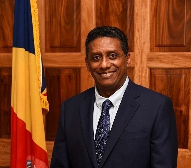 Le président des Seychelles, Danny Faure, au Sommet des chefs de gouvernement des Etats membres du Commonwealth