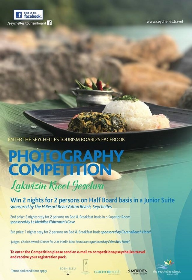 Your Creole food looks yummy? Seychelles Tourism Board wants a pic