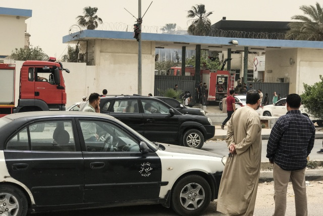 IS suicide attack on Libya election commission kills 12