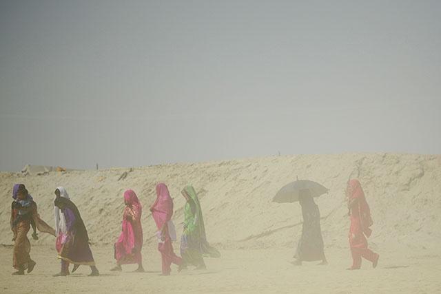 Une centaine de morts dans des tempêtes de sable en Inde