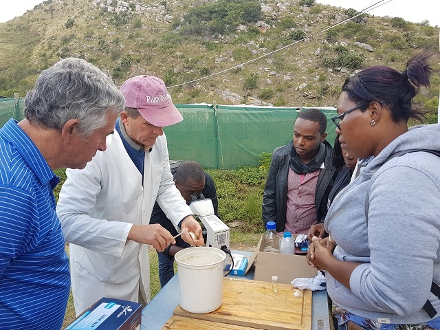 4 Seychellois trained in fish health, bio-security course to island nation's approach
