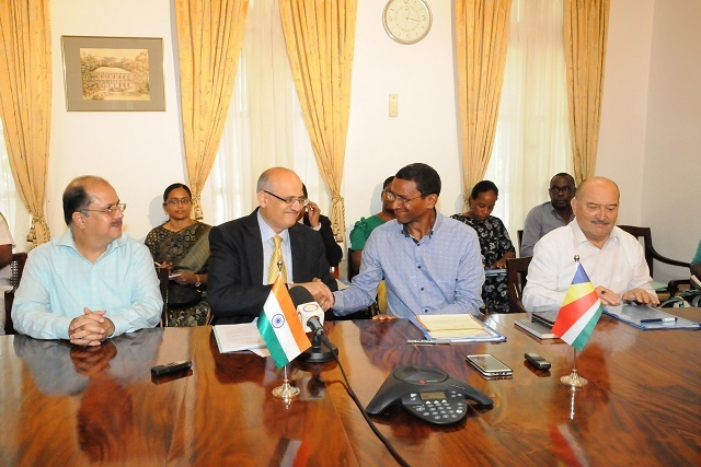 India, Seychelles meet to discuss health, education and technology at Joint Commission Meeting