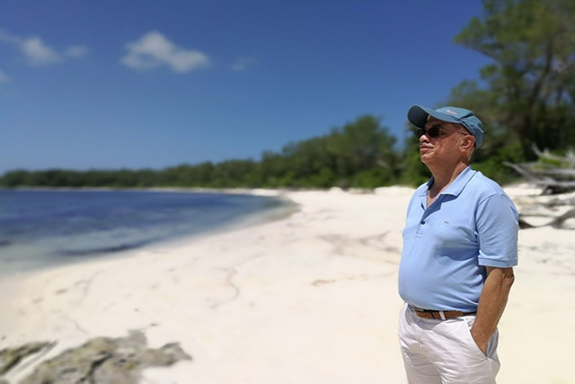 James Michel Hailed a Pioneer in Promoting the Blue Economy