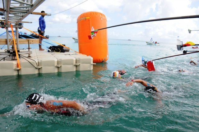 2 Italians win 10km FINA swimming event held in Seychelles