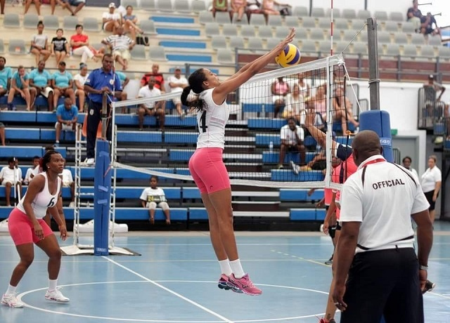Volleyball star on Seychelles' second island hopes for indoor sports facility