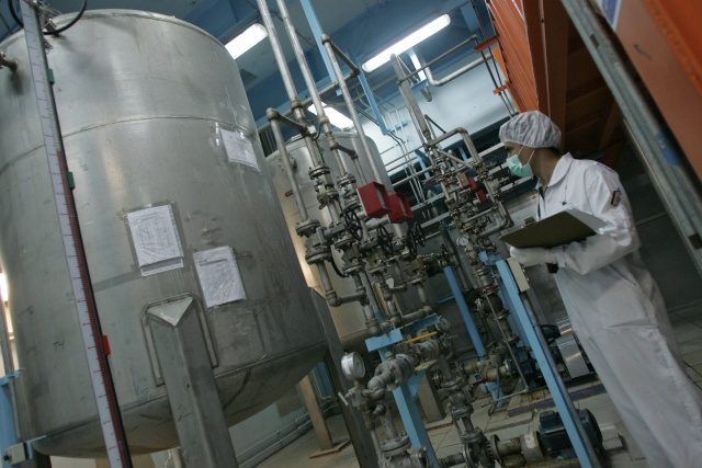 Iran tells UN it will hike uranium enrichment capacity