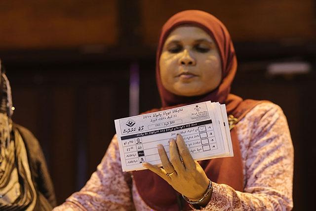 Maldives: présidentielle le 23 septembre, Yameen grand favori