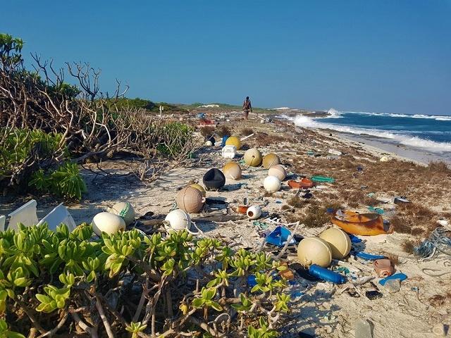 President of Seychelles shocks G7 meeting with photos of ocean trash