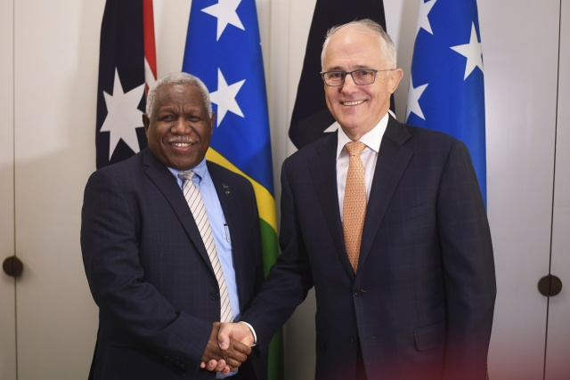 Australia agrees Solomons internet cable after China concern
