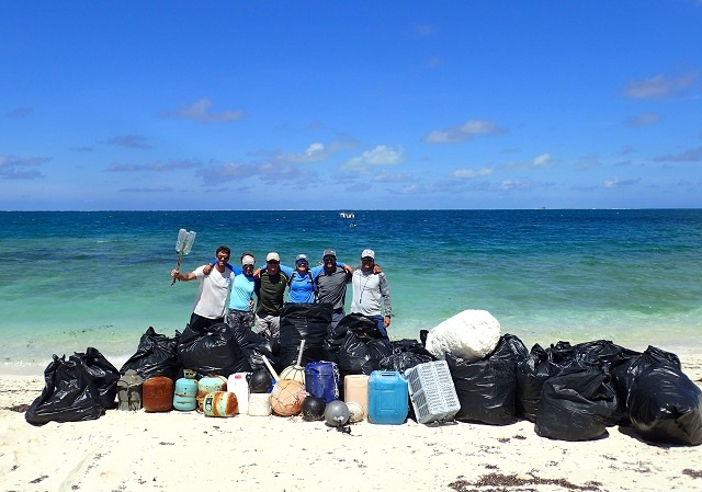 Litter alarm: 1.2 tonnes of debris collected on beaches of one Seychellois island
