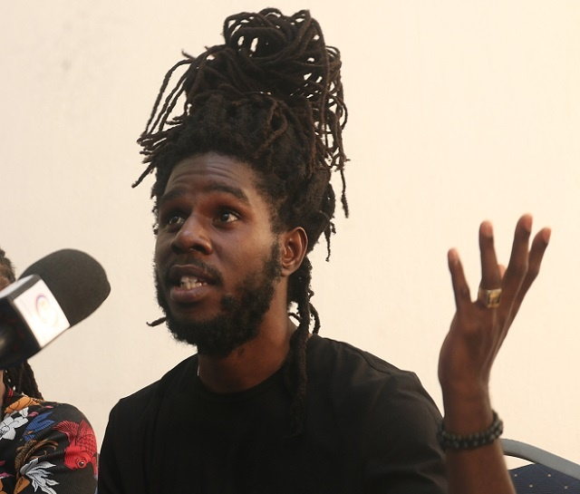 Reggae Saturday night in Seychelles: Jamaican artist Chronixx takes the stage