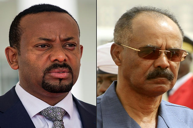 Eritrea President arrives in Ethiopia for state visit
