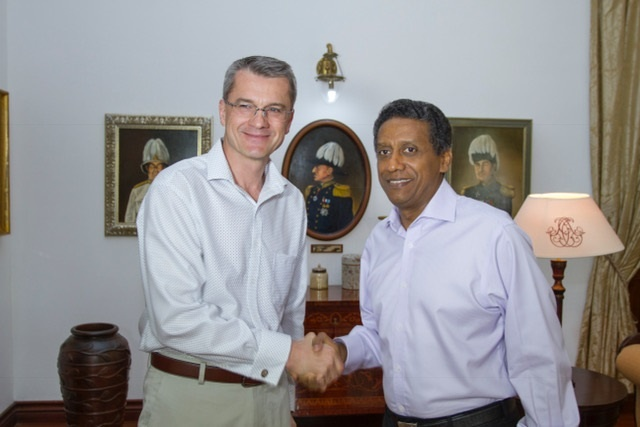 Environment, health issues, human rights underpin Czech Republic-Seychelles relationship, outgoing ambassador says