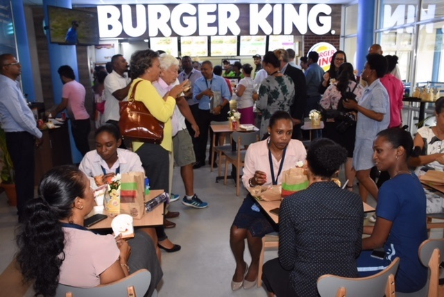 Tasty, tasty, tasty: Burger King, Coffee Club open outlets at Seychelles' airport