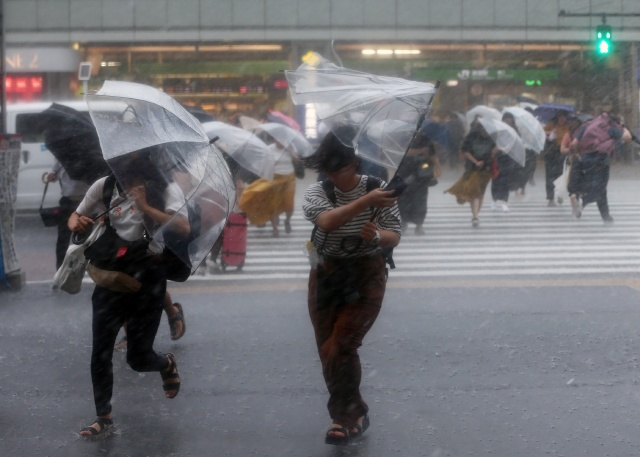 Powerful storm hits disaster-ravaged Japan