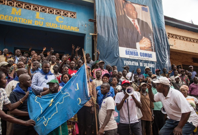 DR Congo ex-warlord Bemba returns home to mount election challenge