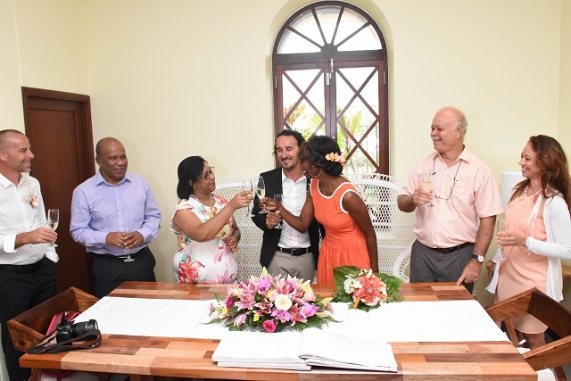 Mayor's office, a more beautiful setting, is new location for civil weddings in Seychelles