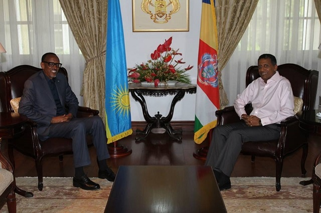 Rwandan President on private visit to Seychelles