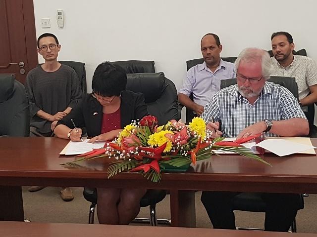 La Chine annule un prêt de 5,5 millions de dollars afin de réduire la charge de l'endettement des Seychelles