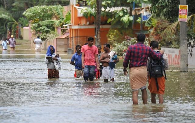 India's devastating rains match climate change forecasts