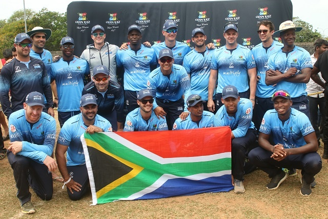 South African top cricket team on pre-season tour in Seychelles